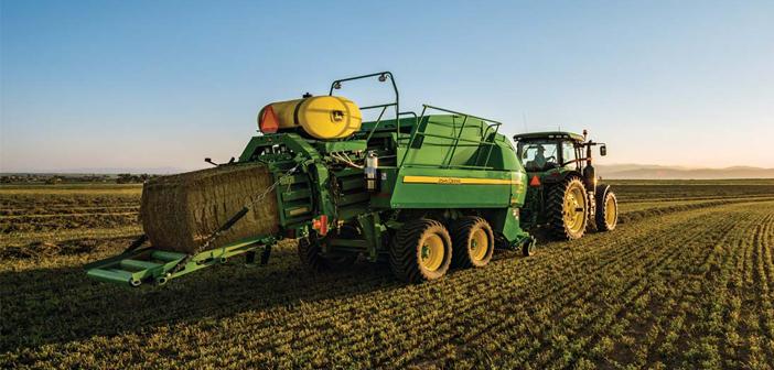 Megafardos de alfalfa con destino exportación